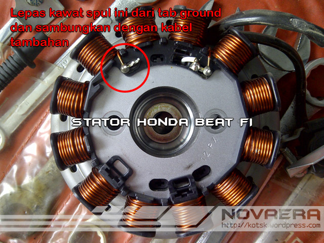 Stator Honda Beat FI